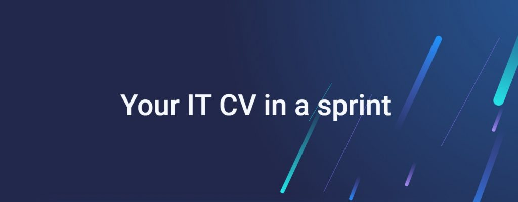Sprint CV is a free online CV generator for the IT industry.