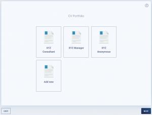Generating CVs to any branded CV template - Sprint CV