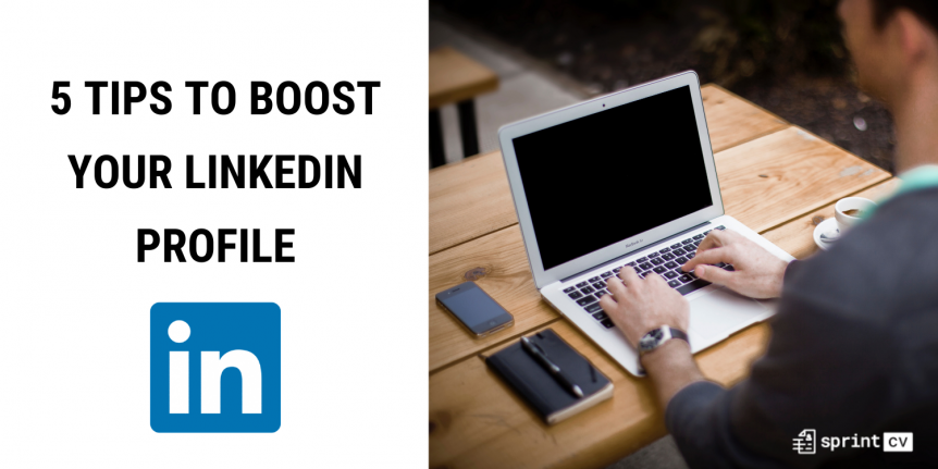 Sprint CV tips on how to improve your LinkedIn IT profile. A must read for IT consultants.