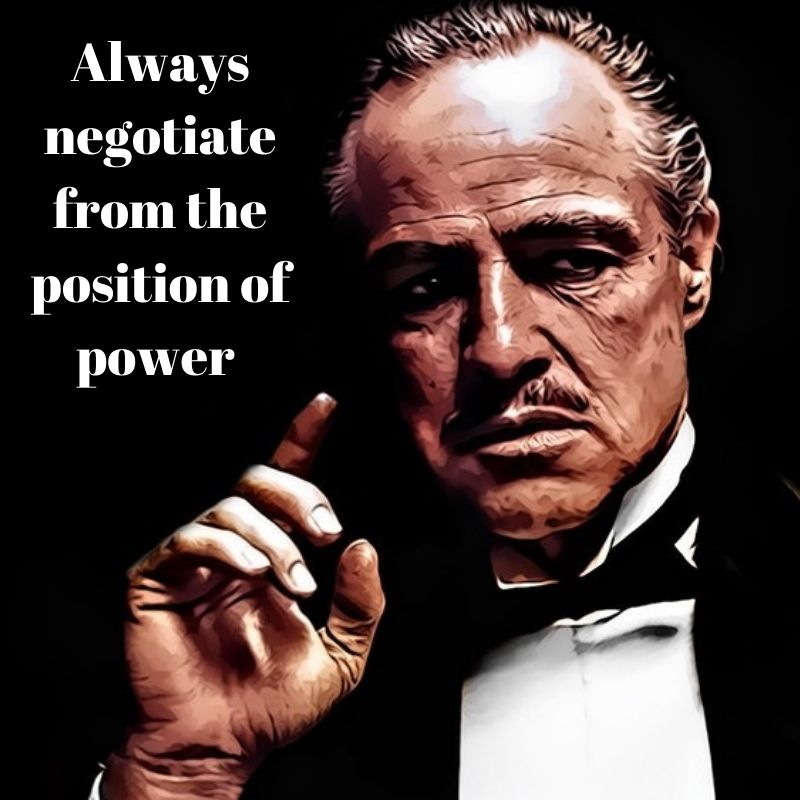 when you find your next IT job always negotiate your contract from a position of power