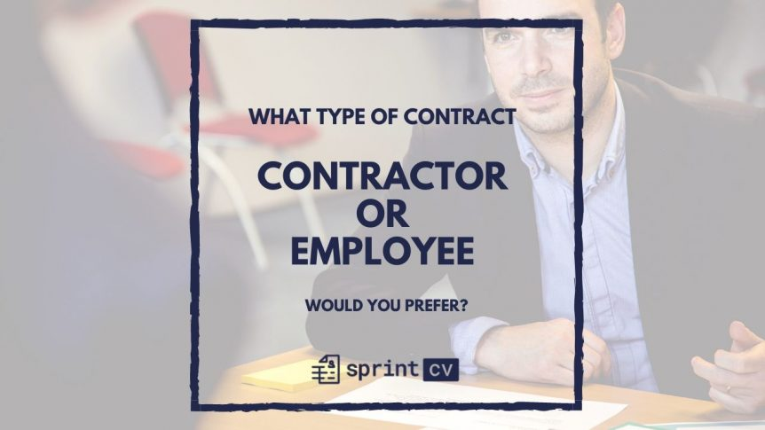 Contractor vs Employee in IT. The differences between an independent contractor and a permanent employee.