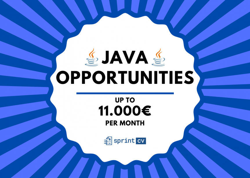 Java opportunities for IT consultants. IT Jobs for IT professional - Sprint CV