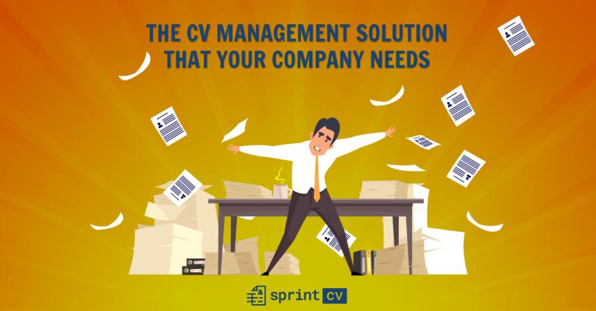 CV management solution