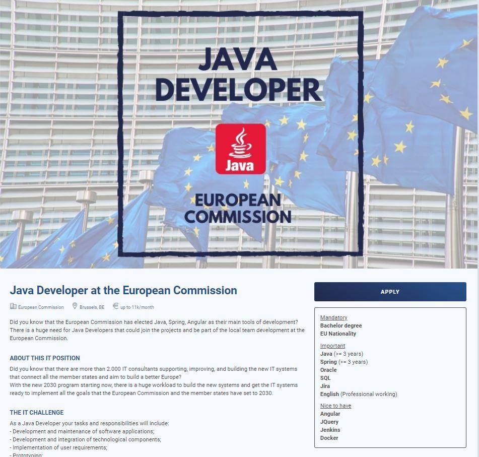 CV Management Solution - Job Post Description - Sprint CV