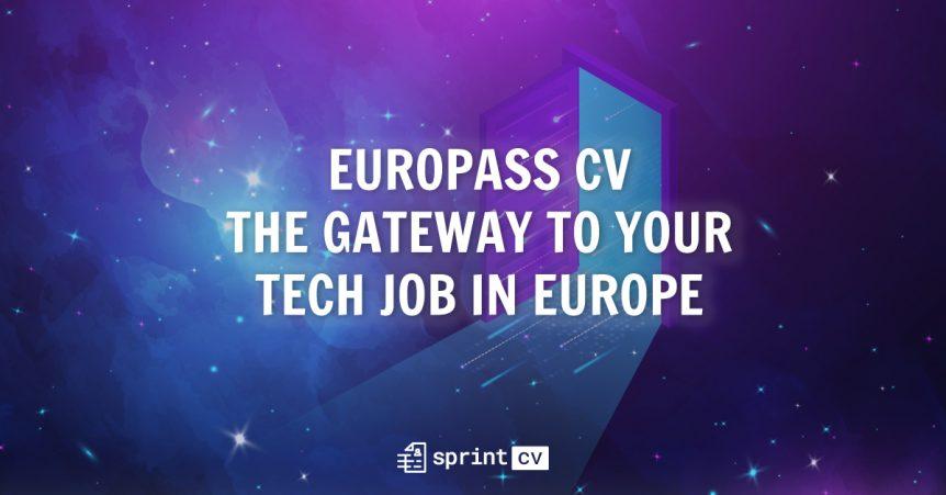 Europass CV Sprint V