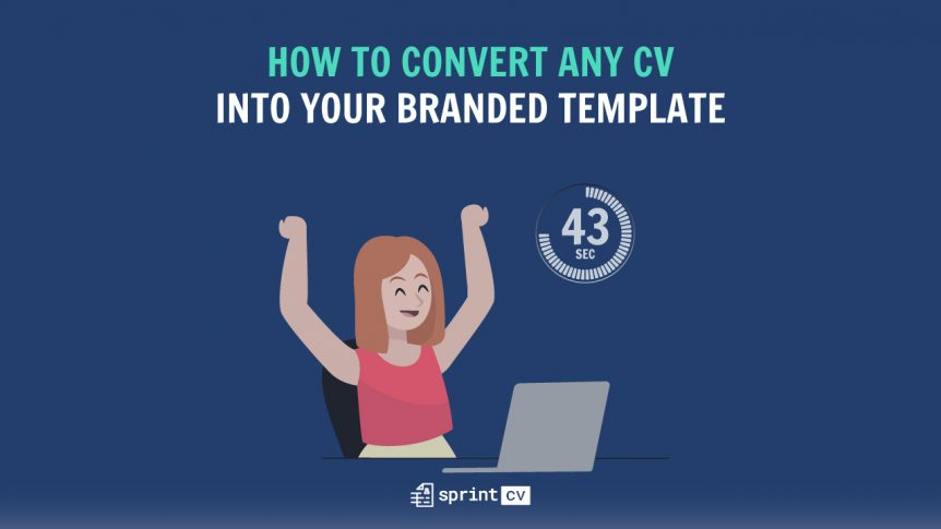 Convert any CV